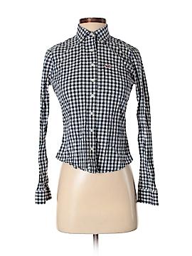 Hollister Long Sleeve Button-Down Shirt Size XS