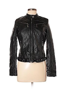 J2 Faux Leather Jacket Size M