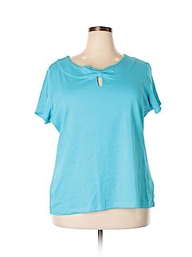 Rafaella Studio Short Sleeve Top Size 3X (Plus)