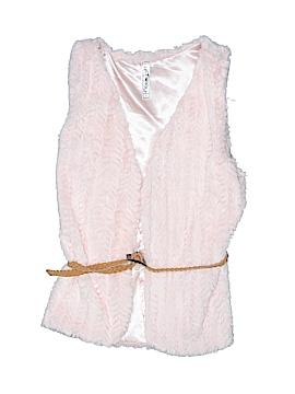 Knit Works Faux Fur Vest Size 12