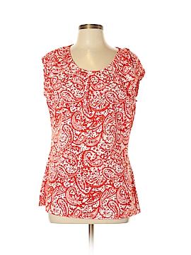 Ann Taylor LOFT Outlet Short Sleeve Top Size XL