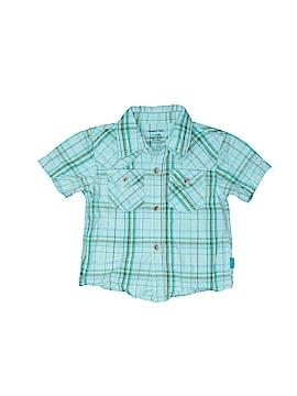 Pumpkin Patch Short Sleeve Button-Down Shirt Size 6-12 mo