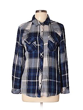 Vintage Havana Long Sleeve Button-Down Shirt Size M