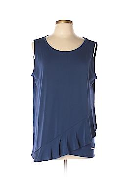 Jones New York Signature Sleeveless Top Size XL