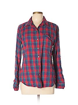 Lark & Wolff Long Sleeve Button-Down Shirt Size L