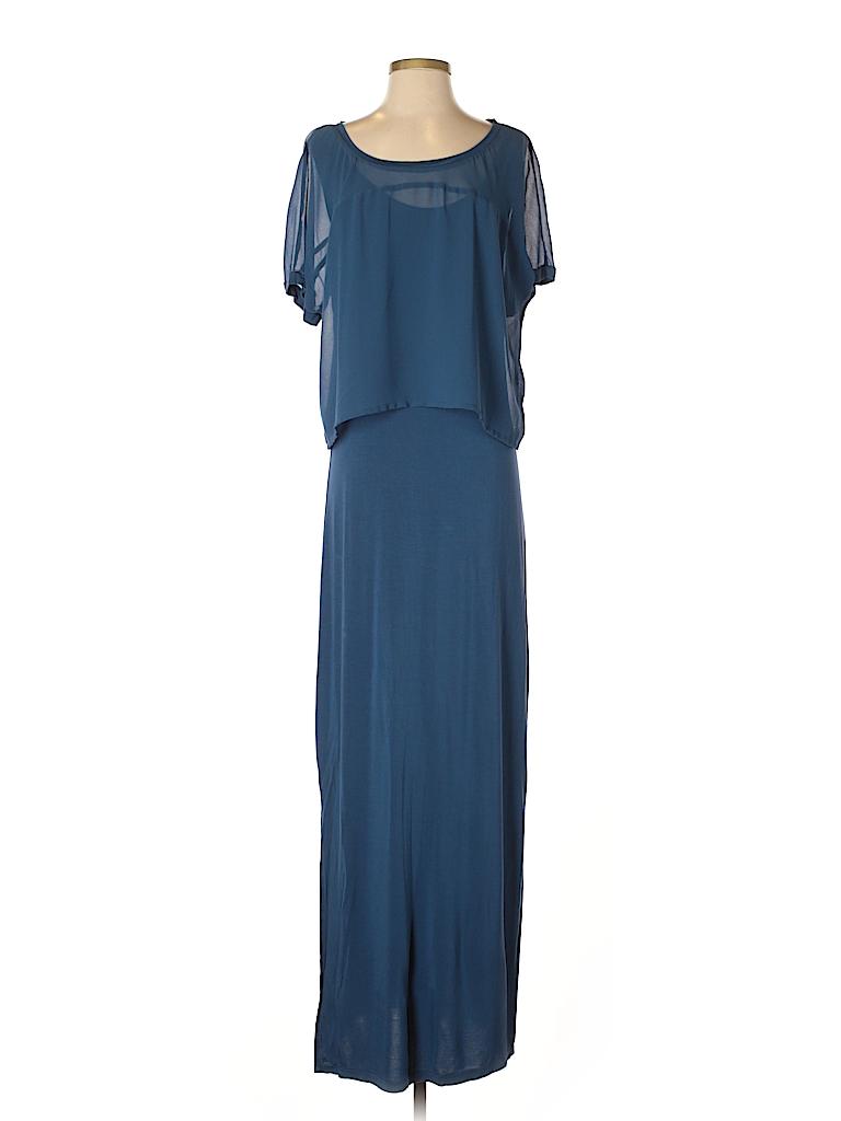 JunaRose Women Casual Dress Size L (Plus)