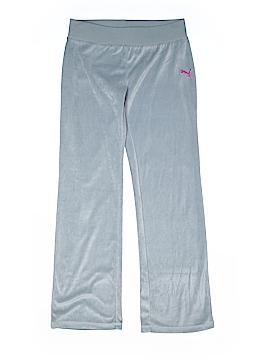 Puma Velour Pants Size X-Large (Kids)