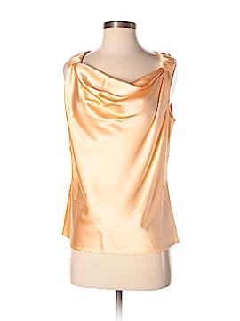 St. John Sleeveless Silk Top Size S