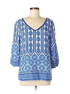 Myan 3/4 Sleeve Blouse Size M