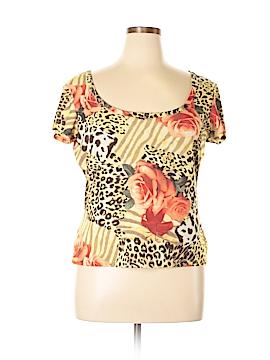 St. John Sport Short Sleeve Top Size XL