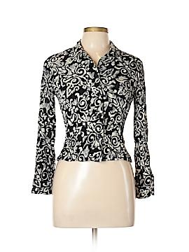 Karen Kane Long Sleeve Button-Down Shirt Size 10