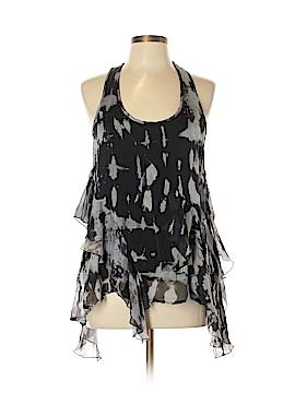 Akiko Sleeveless Silk Top Size L