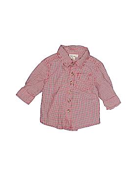 Cherokee Long Sleeve Button-Down Shirt Size 6 mo