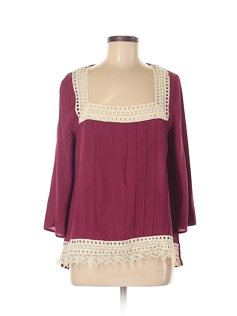 Umgee Women 3/4 Sleeve Blouse Size M