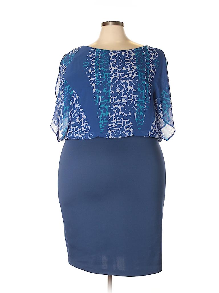 Sangria Women Casual Dress Size 22w (Plus)
