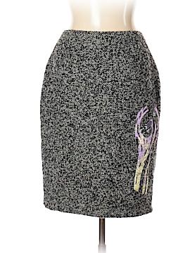 Christian Lacroix Wool Skirt Size 44 (EU)