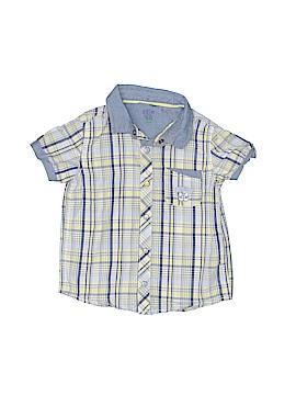 Sergent Major Short Sleeve Button-Down Shirt Size 18 mo
