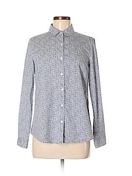 J. McLaughlin Long Sleeve Button-Down Shirt Size 8