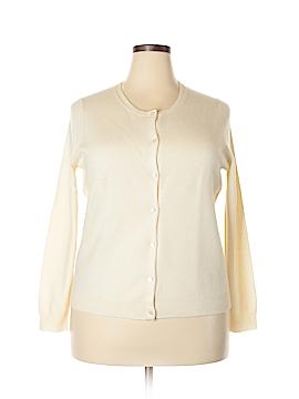 Neiman Marcus Cashmere Cardigan Size 1X (Plus)