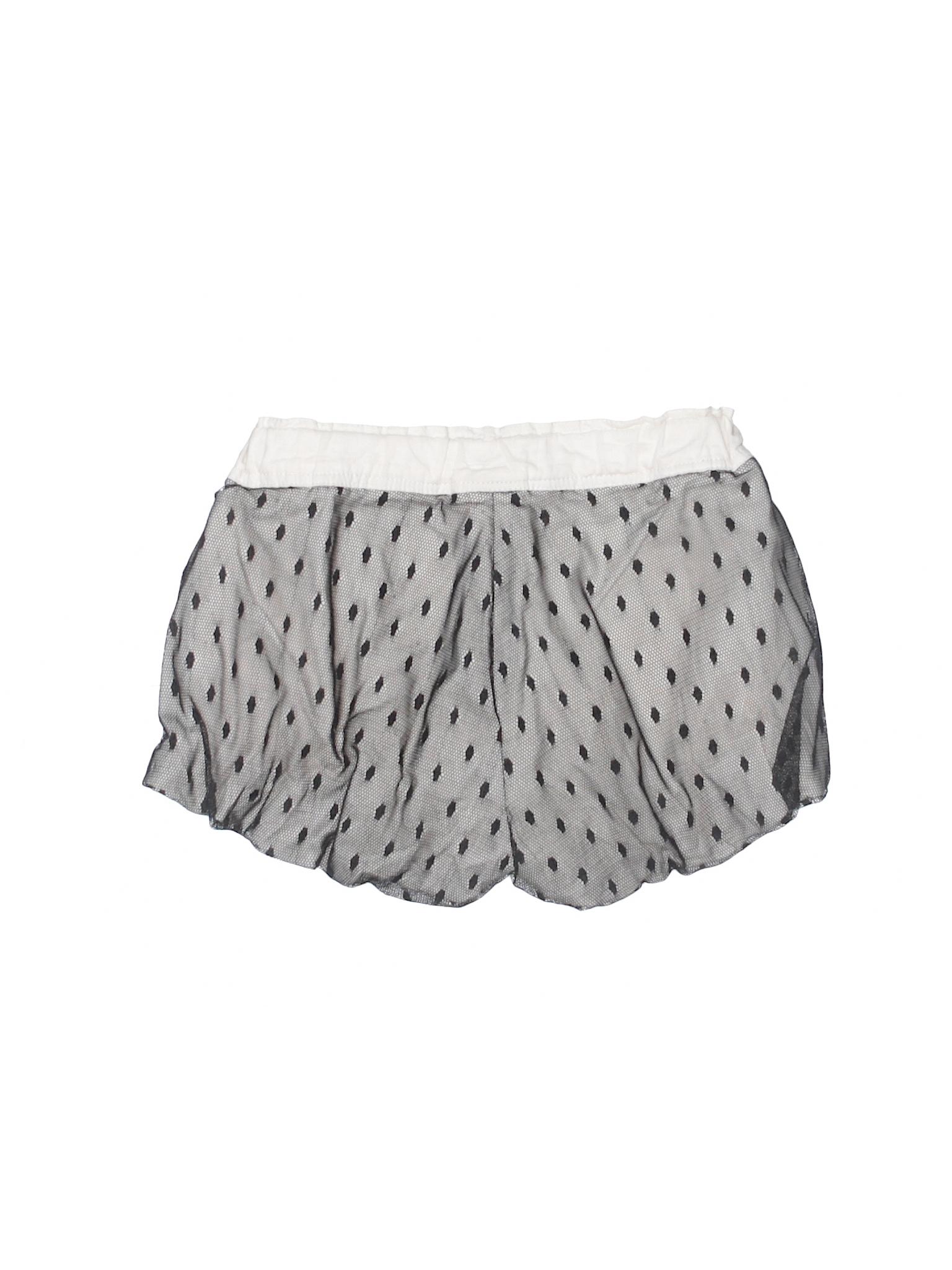 Harajuku Mini For Target 100 Polyester Print Black Shorts Size 4