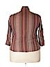 Cj Banks Women 3/4 Sleeve Button-Down Shirt Size 2X (Plus)