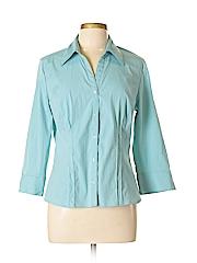 Bay Studio Women 3/4 Sleeve Blouse Size XL