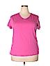 Falls Creek Women Short Sleeve T-Shirt Size 1X (Plus)