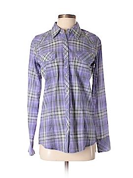 Rock 47 Long Sleeve Button-Down Shirt Size M