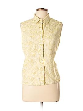 Bass Sleeveless Button-Down Shirt Size XL