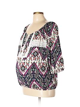 Lavish by Heidi Klum 3/4 Sleeve Top Size XL (Maternity)