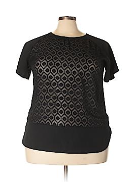 Van Heusen Short Sleeve Blouse Size XXL
