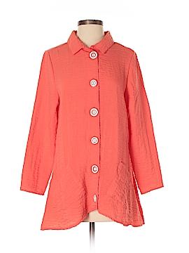 Lulu-B Long Sleeve Button-Down Shirt Size S