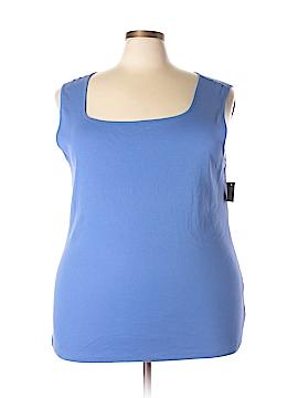 Karen Scott Tank Top Size 3X (Plus)