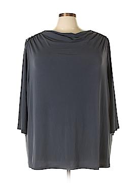 Maggie Barnes 3/4 Sleeve Top Size 30/32 (Plus)