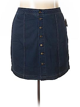 Charter Club Denim Skirt Size 20W (Plus)