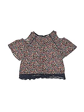 Monteau Girl Short Sleeve Blouse Size 7