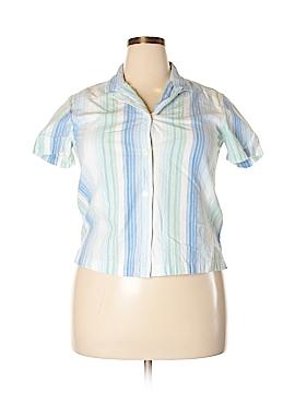Cabin Creek Short Sleeve Button-Down Shirt Size XL (Petite)