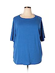 Cj Banks Women Short Sleeve T-Shirt Size 2X (Plus)