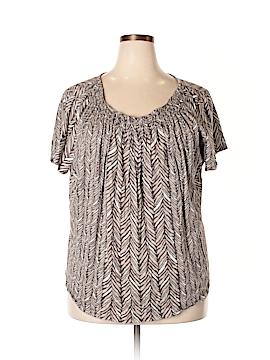 St. John's Bay Short Sleeve Top Size 3X (Plus)