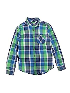 Ruff Hewn Long Sleeve Button-Down Shirt Size 10 - 12
