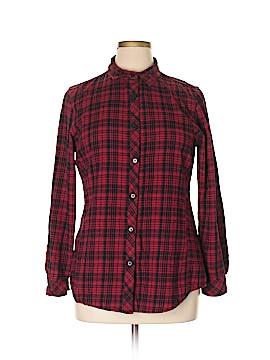 Great Northwest Indigo Long Sleeve Button-Down Shirt Size XL