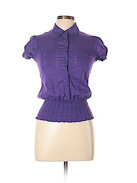 FANG Short Sleeve Button-Down Shirt Size S