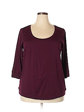Torrid 3/4 Sleeve Top Size 3X Plus (3) (Plus)
