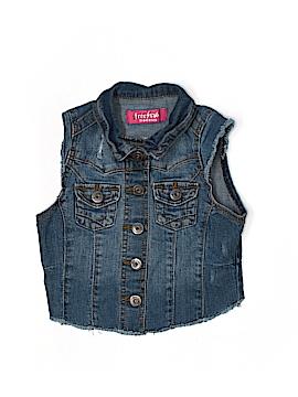 Free Style Denim Vest Size L (Youth)