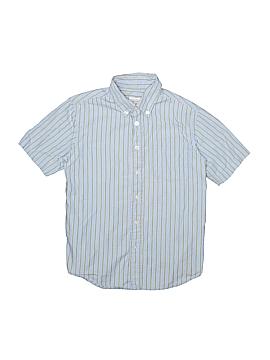 Talbots Kids Short Sleeve Button-Down Shirt Size 8
