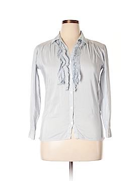 Gerard Darel Long Sleeve Button-Down Shirt Size 10 (42)