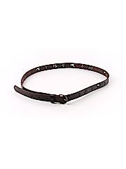 Hollister Women Leather Belt Size Med - Lg