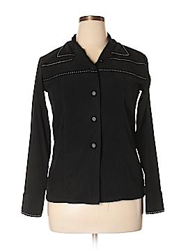 Robert Louis Long Sleeve Button-Down Shirt Size L