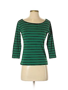 August Silk 3/4 Sleeve T-Shirt Size S