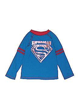Superman Long Sleeve T-Shirt Size 4T